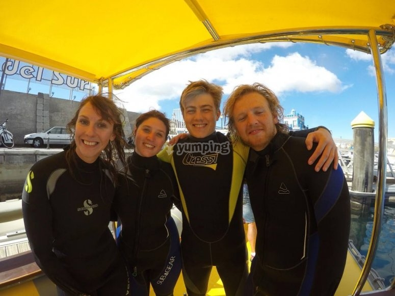 Leave behind the routine and come to scuba dive