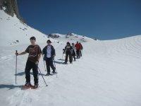 Raquetas de nieve por Lloroza