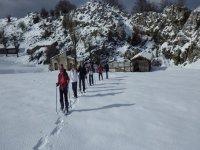 Copia de en ruta con las raquetas de nieve