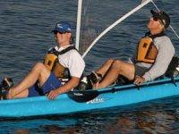 Rilassati con la canoa