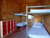 Habitaciones del albergue