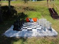 Zona del ajedrez gigante