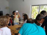 In the robotics workshop