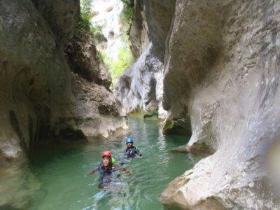 Barranquismo iniciación Serranía de Cuenca