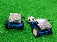 Jugando a fútbol con los robots
