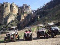 Grupo de buggies ruta Tajo de Ronda