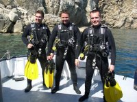 Diving Baptism in L'Escala from Boat