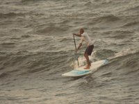 Stand up paddle con onde