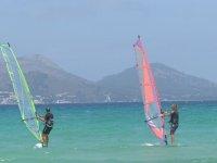 Windsurf de perfeccionamiento en Mallorca