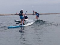 Studenti di paddle surf a Denia