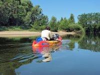 dia en canoa