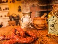 橄榄油和香肠