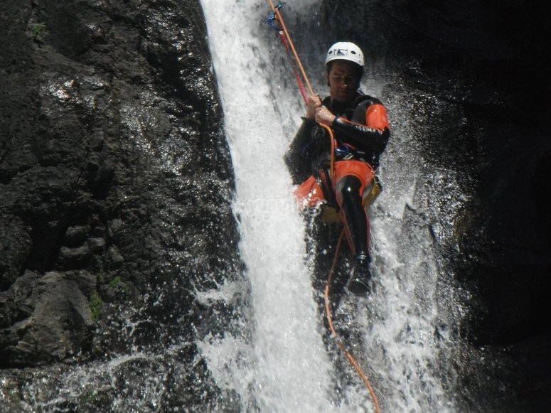Canyoning in the Pyrénées-Orientales