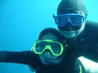 Scuba diving activities