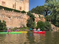 Kayaking in calm waters of Tajo river 90 min
