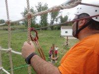 Parque de cuerdas con 3 tirolinas, precio adulto