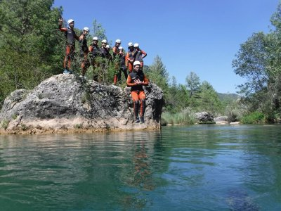 Rafting in Arroyo de la Dehesa 5 hours