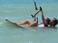 Primeros pasos en el kitesurf