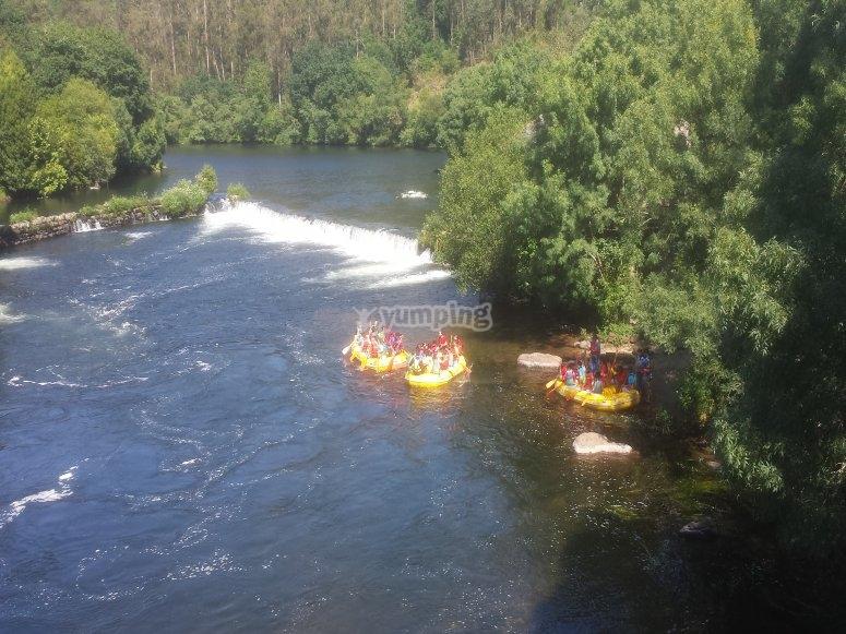 Travesía río Ulla en SUP para familias
