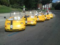 La flota de GoCar