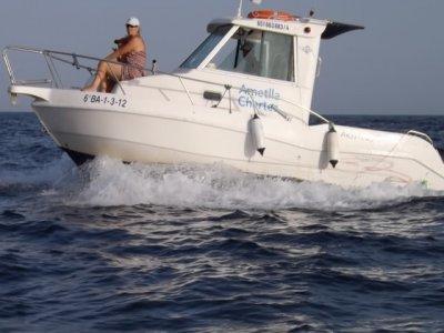 Alquiler barco sin patrón, L´Ametlla de Mar, 5h.