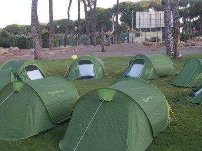 English Camp, Bollullos de la Mitación, July