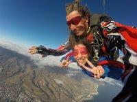 Godersi il salto con il paracadute