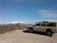 在Sierra del Chaparral
