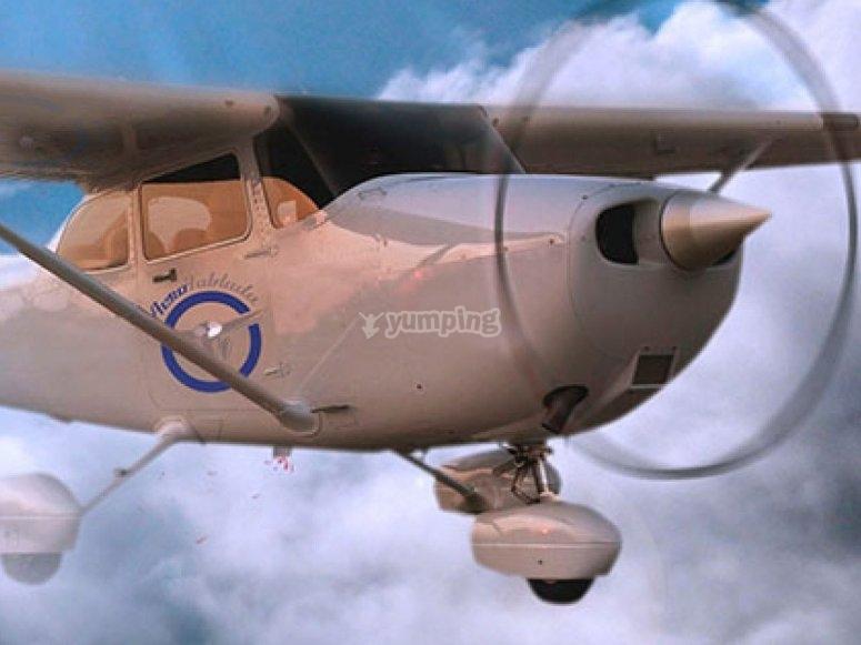 Helice de la avioneta