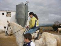 在Cofrentes骑马的路线