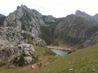 Uno de los lagos