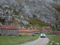 Pasando por una aldea