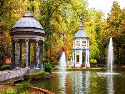 Mitología en los jardines de Aranjuez 2 horas