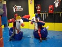 pelea medieval