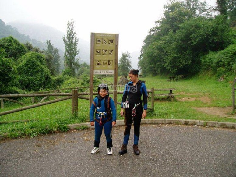 canyoning per adulti e bambini