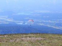 Parapente en la montaña