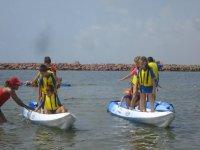 Actividades en el agua