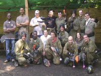Giocatori di paintball