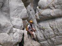 Descenso del Barranc de l'Infern, nivel II seco