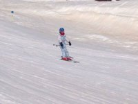 Esquiando en las pistas de Astun
