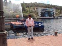 在Torrevieja码头 -