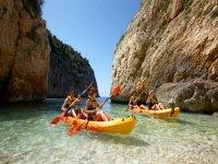 La Búsqueda del Tesoro, aventura kayak doble
