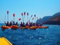 Ruta en kayak doble para iniciados, 8 km