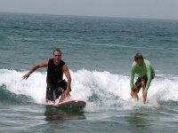 冲浪的第一步