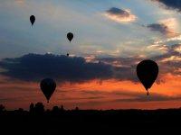 加泰罗尼亚的热气球飞行