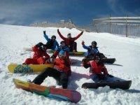 Aprende a hacer snow en Madrid