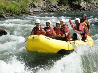 Rafting on the raft