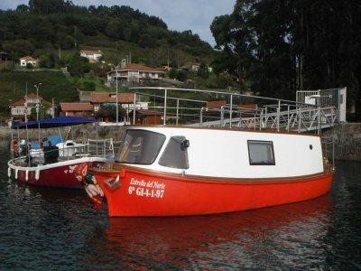 Paseo en barco por el Cantábrico, 1h 30min
