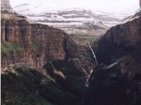 Cirque and waterfall of Cotatuero