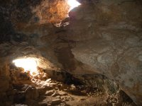 The cave with daylight